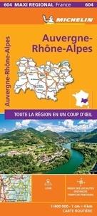 Michelin - Auvergne-Rhône-Alpes - 1/400 000.