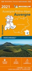 Michelin - Auvergne - 1/200 000, indéchirable.