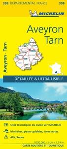 Michelin - Aveyron, Tarn - 1/150 000.