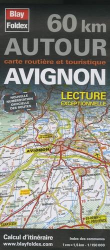 Blay-Foldex - Avignon - 1/150 000.