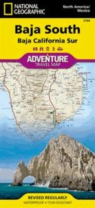National geographic society - Baja South - Baja California Sur. 1/450 000.
