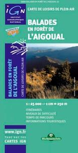 IGN - Balades en forêt de l'Aigoual - 1/25 000.