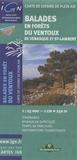 IGN - Balades en forêts du Ventoux, de Venasque et St-Lambert - 1/25 000.