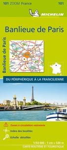 Michelin - Banlieue de Paris, du périphérique à la francilienne - 1/53 000.