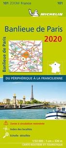 Michelin - Banlieue de Paris - 1/53 000.