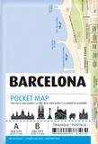 Triangle Postals - Barcelone pocket map.