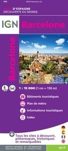 IGN - Barcelone - 1/15 000.