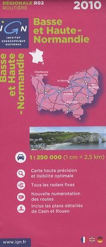 IGN - Basse et Haute-Normandie - 1/250 000.