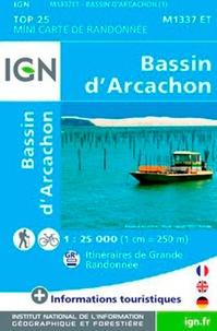 IGN - Bassin d'Arcachon - 1/25 000.