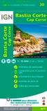 IGN - Bastia Corte, Cap Corse - 1/75 000.