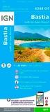 IGN - Bastia, Golfe de St-Florent - 1/25 000.