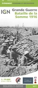 IGN - Bataille de la Somme 1916 - 1/75 000.
