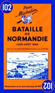 Anonyme - Bataille de Normandie - Carte historique.