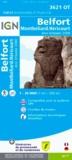 IGN - Belfort Montbéliard Héricourt Aire Urbaine 2000 - 1/25 000.
