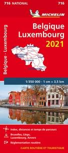 Michelin - Belgique, Luxembourg - 1/350 000.