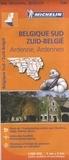 Michelin - Belgique Sud / Zuid-België - Ardenne / Ardennen. 1/ 200 000.