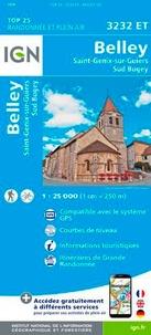 IGN - Belley - Saint-Genix-sur-Guiers, Sud Bugey. 1/25 000.