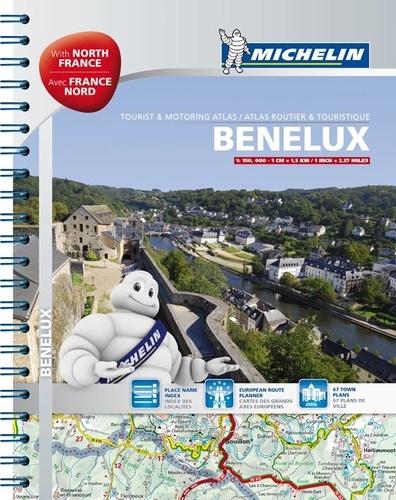 Michelin - Benelux & France Nord - Atlas routier et touristique 1/150 000.