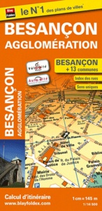 Blay-Foldex - Besançon agglomération - 1/14 500.