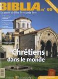 Edouard Cothenet - Biblia N° 65, Janvier 2008 : Chrétiens dans le monde.