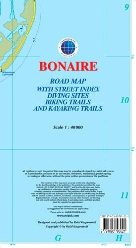 Collectif - Bonaire - 1/40 000.
