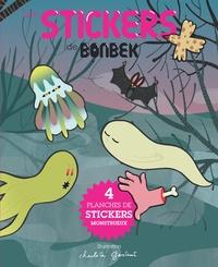 Charlotte Gastaut - Bonbek Hors-série automne-h : Les Stickers de Bonbek - 4 planches de stickers monstrueux.