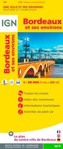 IGN - Bordeaux et ses environs - 1/80 000.