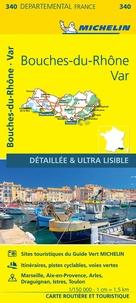 Michelin - Bouches-du-Rhône, Var - 1/150 000.