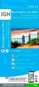 Boulogne-sur-Mer, Forêts du Boulonnais, PNR des Caps et Marais dOpale - 1/25 000.pdf