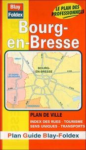 Blay-Foldex - Bourg-en-Bresse - Plan de ville.