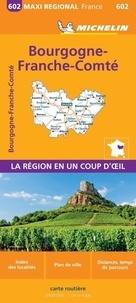 Michelin - Bourgogne-Franche-Comté - 1/400 000.