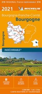 Michelin - Bourgogne - 1/200 000.