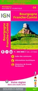 IGN - Bourgogne. Franche-Comté - 1/250 000.