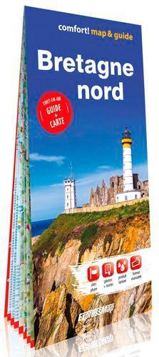 Bretagne nord. Tout-en-un guide + carte. 1/300 000