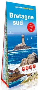 Express Map - Bretagne sud - Tout-en-un guide + carte. 1/300 000.