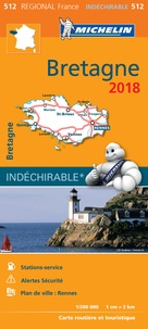Michelin - Bretagne - 1/200 000.