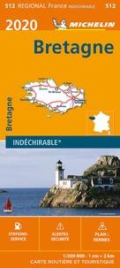 Michelin - Bretagne - 1/200 000, indéchirable.