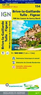 IGN - Brive-la-Gaillarde Tulle Figeac - 1/100 000.