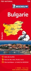 Michelin - Bulgarie - 1/700 000.