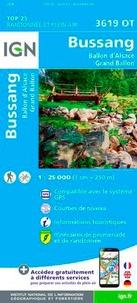 IGN - Bussang, Ballon d'Alsace, Grand Ballon - 1/25 000.