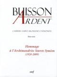 Jean-Claude Polet - Cahiers Saint-Silouane l'Athonite Hors-Série : Hommage à l'Archimandrite Starets Syméon - (1928-2009).