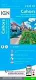 IGN - Cahors - Saint-Cirq-Lapopie, Vallées du Lot et du Célé : 1/25 000.