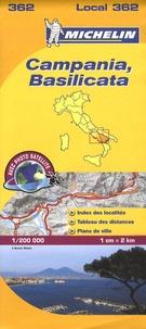 Michelin - Campania, Basilicata - 1/200 000.