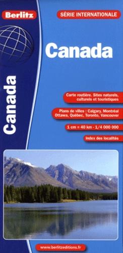 Berlitz - Canada - 1/4 000 000.