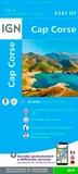 IGN - Cap Corse - 1/25 000.