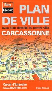 Blay-Foldex - Carcassonne - Plan de ville.