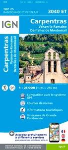Carpentras, Vaison-la-Romaine, Dentelles de Montmirail - 1/25 000.pdf