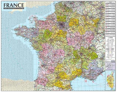 Carte de France administrative et routière - 1/1... - Express Map - Livres - Furet du Nord