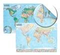 Express Map - Carte du monde : politique et physique - 1/21 500 000.