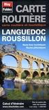 Blay-Foldex - Carte routière et touristique Languedoc Roussillon - 1/200 000.